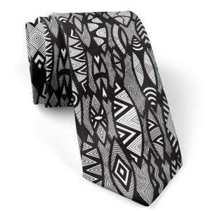 Aboriginal Art Silk Tie