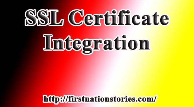 SSL for First Nations Stories Website