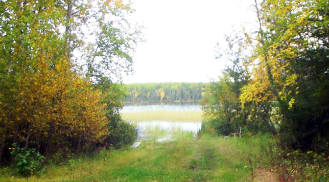 October Canoe Ride to the Trapline