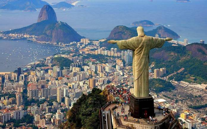 Rio De Janeiro, Brazil - one of the most beautiful cities in the world