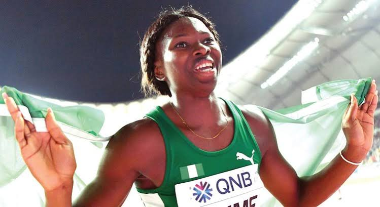 Tokyo Olympics: Nigeria's Ese Brume leaps into women's long jump final -  First News NG