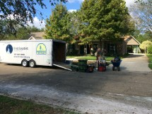 The First Baptist Norfolk flood recovery disaster relief trailer was used to support the two SBCV disaster relief teams in Baton Rouge from Sept. 3-18.