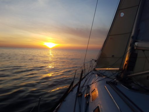 Sailing English Channel 2021
