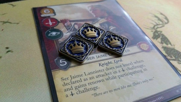 A Game of Thrones LCG Power Tokens (Gold)