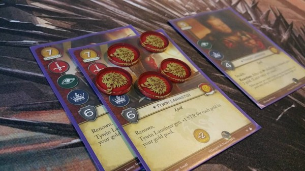 A Game of Thrones LCG House Power Tokens (Night's Watch)
