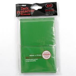 UltraPro Deck Protector Green 100-p