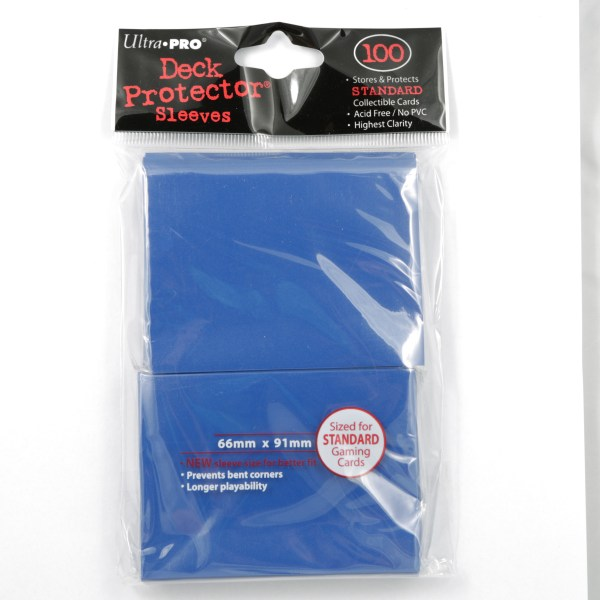 UltraPro Deck Protector Blue 100-p