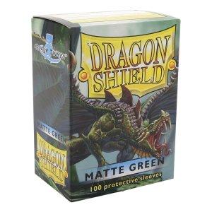 Dragon Shield Matte Green 100-p