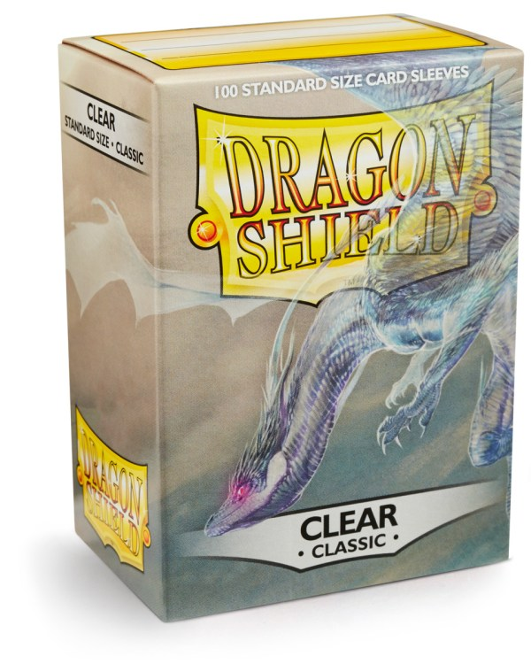 DS: CLASSIC Sleeves (100) - CLEAR