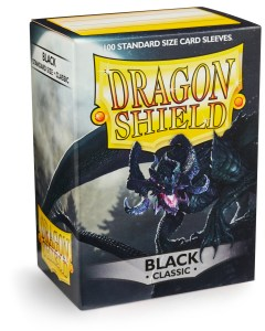 Dragon Shield Classic Sleeves (100) - Black