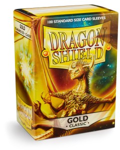 Dragon Shield Classic Sleeves (100) - Gold