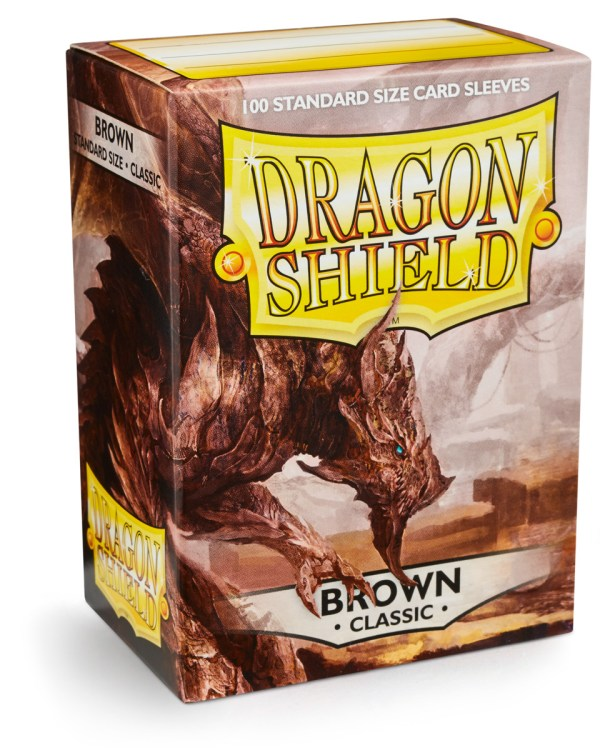 Dragon Shield Brown 100-p