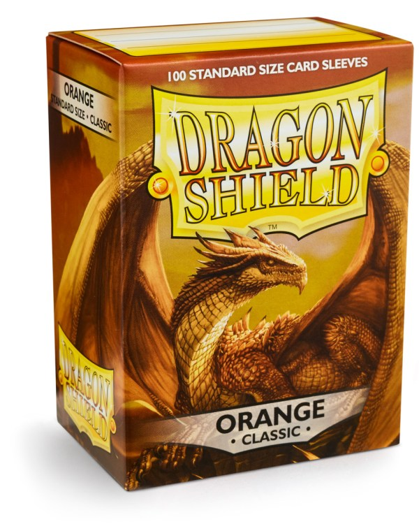 Dragon Shield Orange 100-p