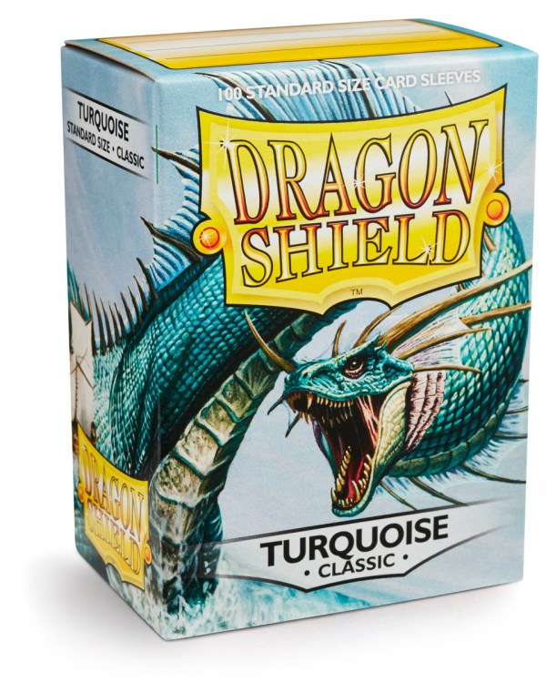 Dragon Shield Turqouise 100-p