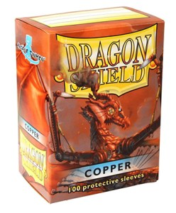 Dragon Shield Classic Sleeves (100) - Copper