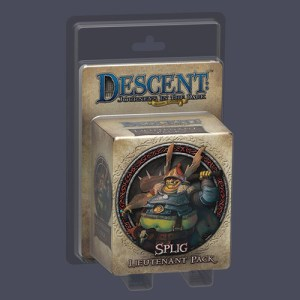 Descent: Journeys in the Dark (Second Edition) – Splig Lieutenant Pack