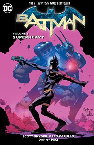 BATMAN TP VOL 08 SUPERHEAVY