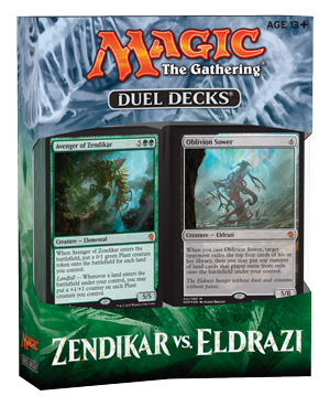 Magic Zendikar vs. Eldrazi Duel Deck