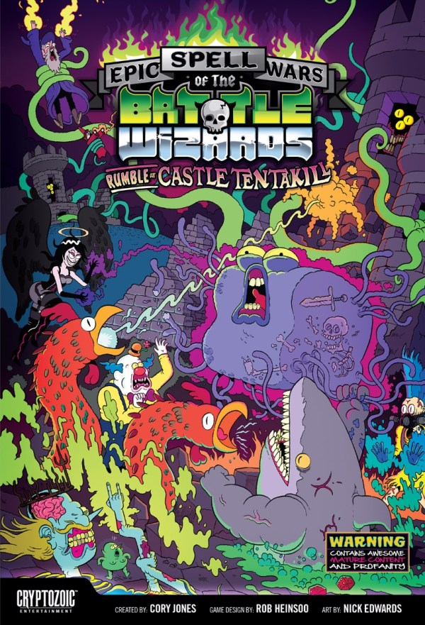 Epic Spellwars of the Battle Wizards II: Rumble at Castle Tentakill