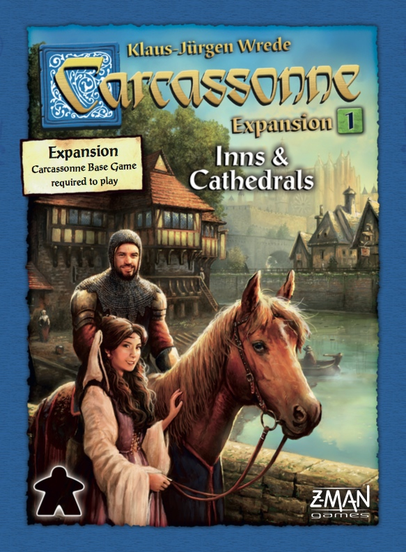 Carcassonne: Expansion 1 – Inns & Cathedrals (sv)