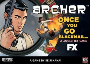 Archer: Once You Go Blackmail (box)