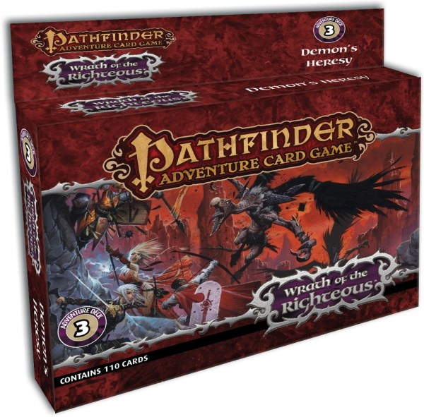 Pathfinder Adventure Card Game: Wrath of the Righteous – Demon's Heresy