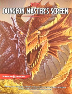 D&D Dungeon Master's Screen 5th Ed.