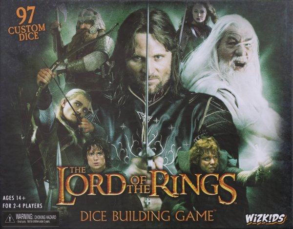 Lord of the Rings – The Dice Building Game