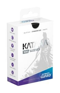 Ultimate Guard Katana Sleeves Standard Size Black (100)