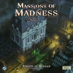 Mansions of Madness: Second Edition – Streets of Arkham: Expansion
