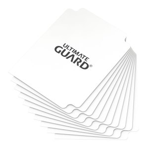 Ultimate Guard Card Dividers Standard Size White (10)