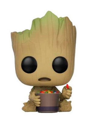 Guardians of the Galaxy 2 POP! Vinyl Bobble-Head Groot & Candy Bowl 9 cm