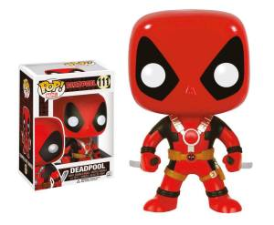 Marvel Comics POP! Vinyl Bobble-Head Deadpool Two Swords 10 cm