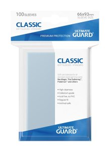 Ultimate Guard Classic Soft Sleeves Standard Size Transparent (100)