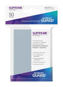 Ultimate Guard Supreme UX Sleeves Standard Size Transparent (50)