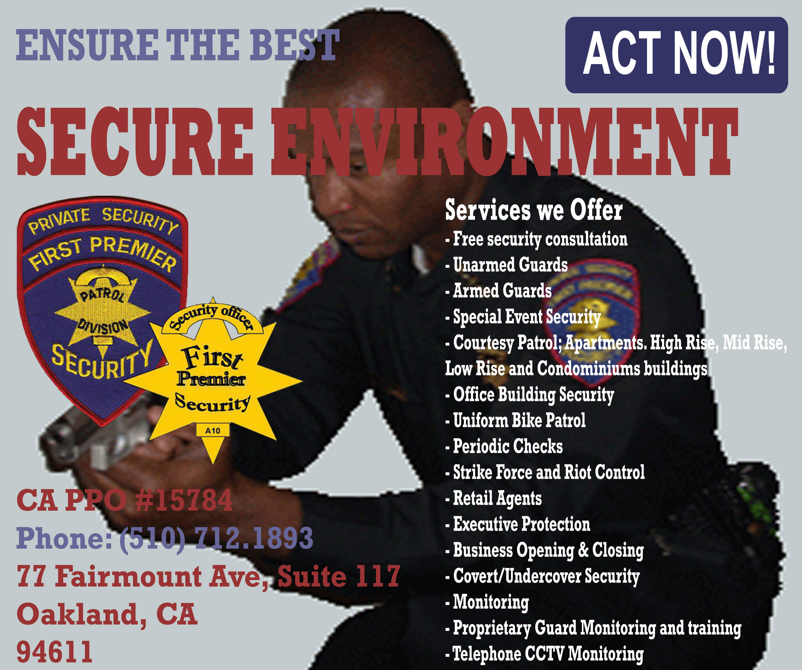 Proprietary Security Officer Training
