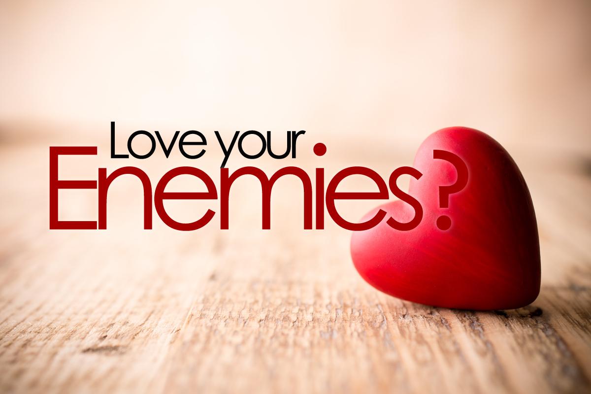 Love My Enemies First Pres Joliet