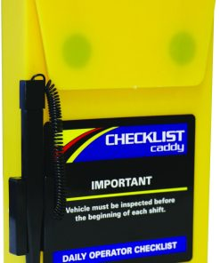 Checklist caddy case