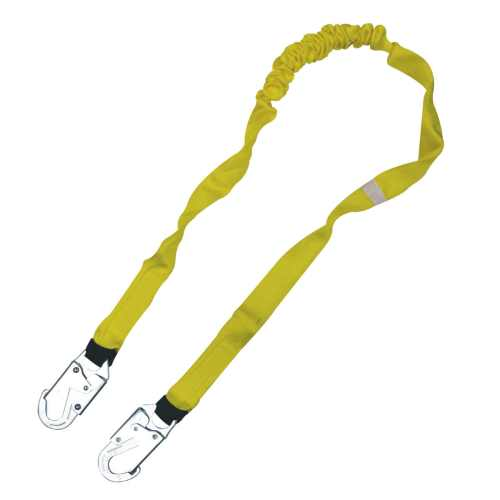 EZ-Fit lightweight shock absorbing 6 Foot lanyard