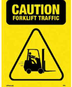 Safety Sign Caution Forklift Traffic
