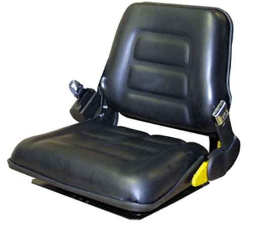 Fork Truck Seat With Vinyl