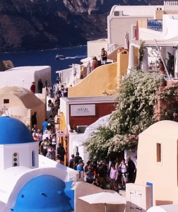 Santorini shopping