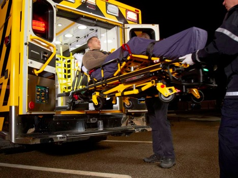 Stryker products in use with EMS