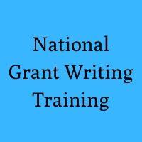National Grant Writing Training