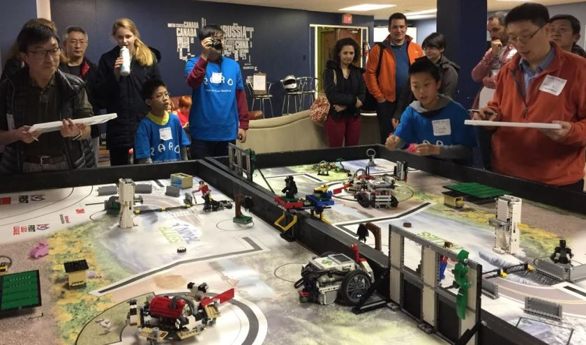 Vancouver FLL scrimmage