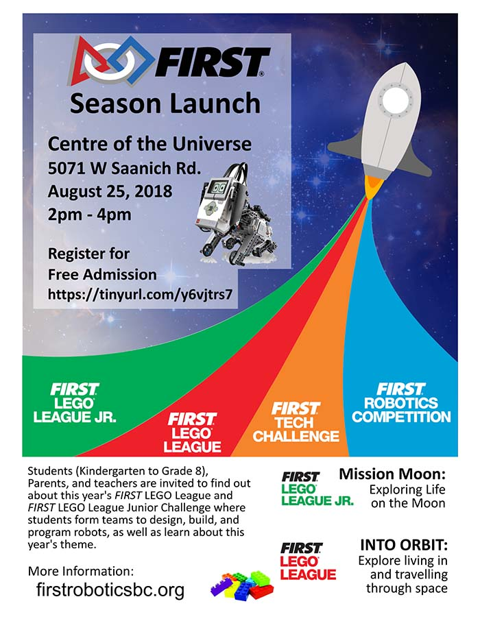 FLL FIRST Season Launch Poster