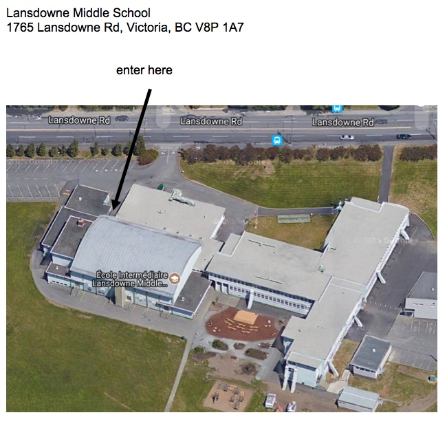 Landsdowne Middle School Entrance