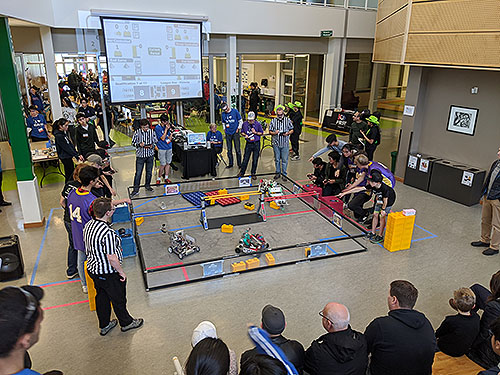 BC FTC League 1 at Oak Bay High School in Victoria