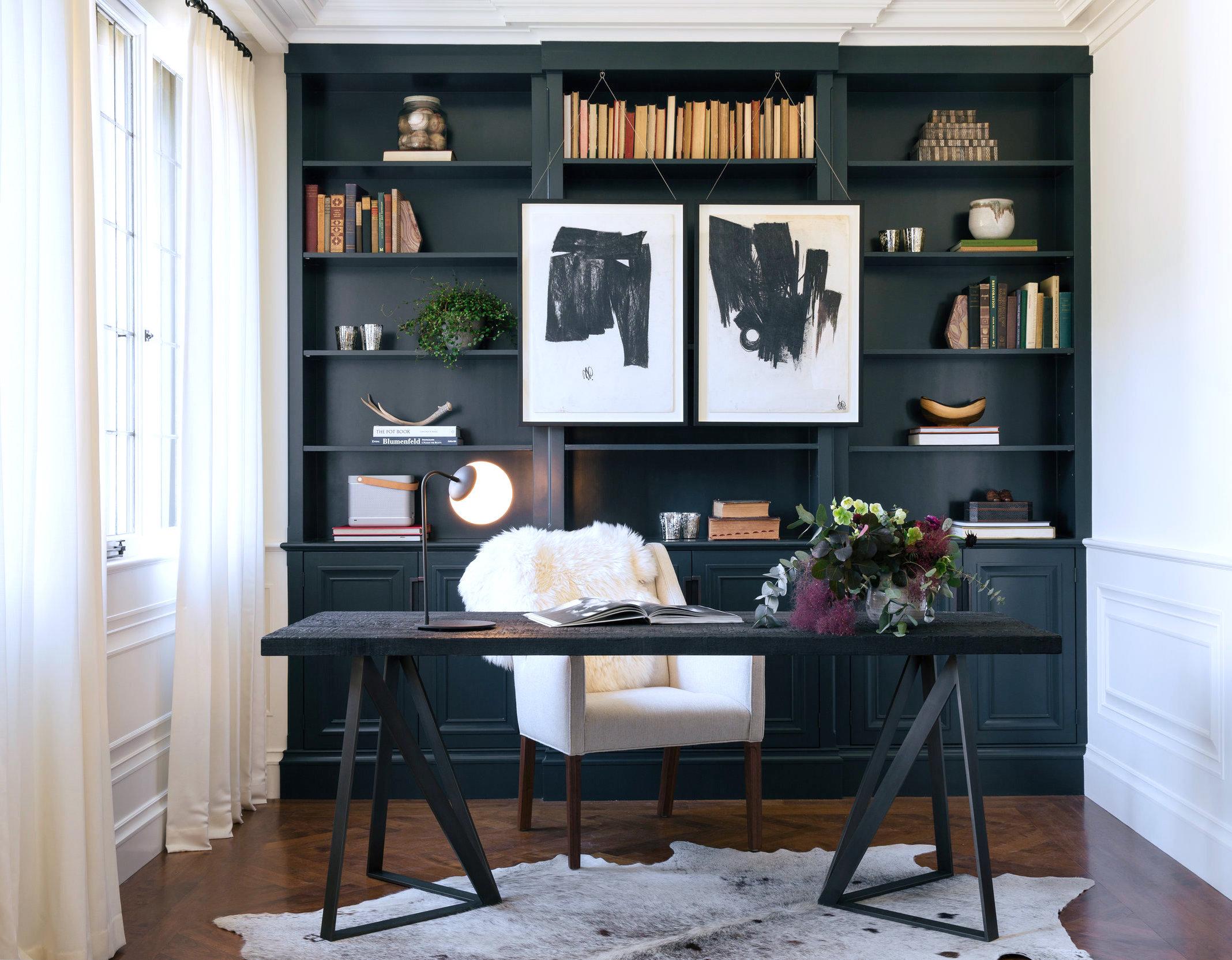cowhide office chair uk lightweight camping feature walls that make a stunning design statement