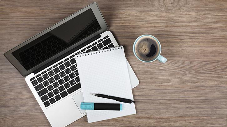 Start writing a WordPress blog